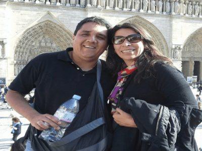 Carlita y Juan Carlos Vizcarra
