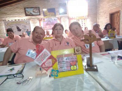 Equipo Nacional Peru - Elenita, Santiago Ormeño y Padre Edgar