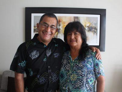 Dioscesanos de Lima Liz y Victor Reategui