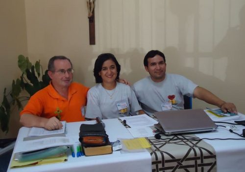 Rossana, Guillermo Valdivia y Padre Marcelo