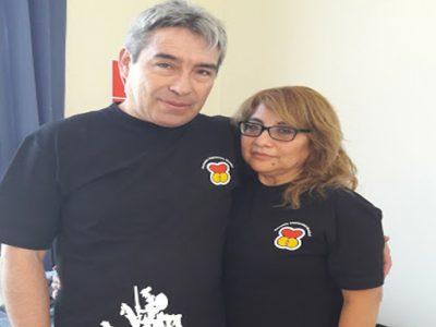 Rosa y John Vargas
